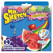 mr sketch markers chisel multi colored target