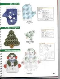 snowman wind chime plastic canvas pattern