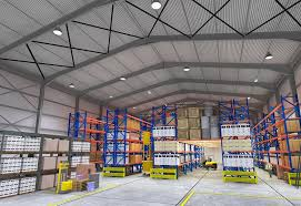 warehouse lighting layout calculator how to light a warehouse lux magazine luxreview com americas