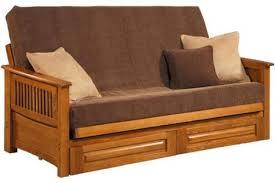 solid wood futon frame solid oak futon frame townsend the futon shop