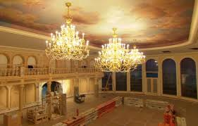 Be Our Guest Restaurant Video Of Inside The Ballroom The - Beauty and the beast dining room