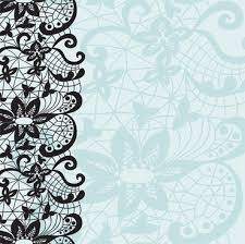 gold lace with white ornaments background vector free vector in