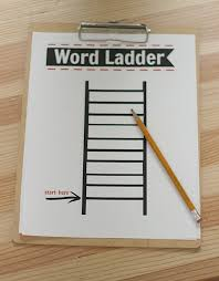 after activity word ladders printable free no time