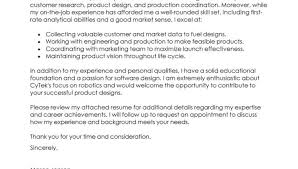 marketing cover letter examples product manager contemporary