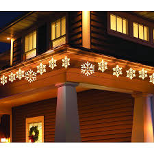 snowflake lights time twinkling snowflake icicle light set comes with 105