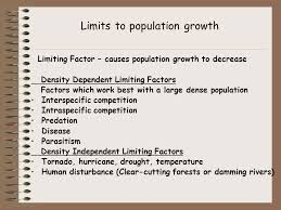 population dynamics characteristics of a population geographical