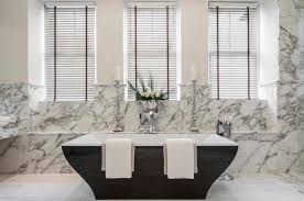 bathroom blind ideas black porcelain stand alone soaking tub and white with gray