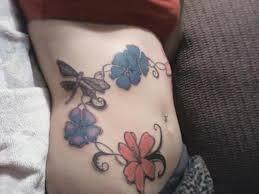 wonderful flowers butterfly on belly tattoos book 65 000