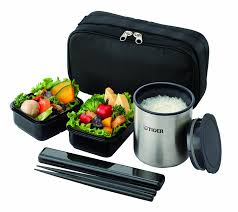 Japanese Style Kitchen K Tiger Thermos Lunch Box Black Lwy R024 K Japan Import Amazon Ca