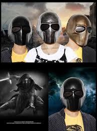 halloween cos star wars jedi fiberglass masks army of two knell