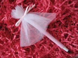 Favor Set by Wedding Dress Pen Wedding Shower Favor Set Of 10