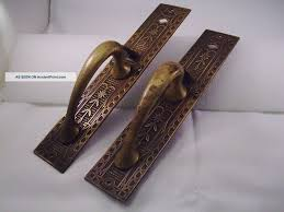 Barn Door Handle by Antique Brass Door Pull Handles Btca Info Examples Doors Designs