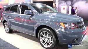 Dodge Journey Interior Space - 2017 dodge journey gt awd exterior and interior walkaround