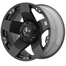 jeeps matte black xd series xd77528535310 wrangler jk rockstar wheel 20x8 5 matte