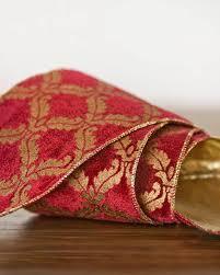 burgundy velvet ribbon christmas tree ribbons selection balsam hill