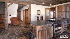 rustic barn wood kitchen cabinets by room