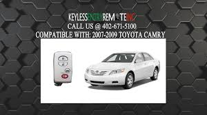 2006 toyota camry battery how to replace toyota camry key fob battery 2007 2008 2009