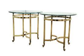 brass and glass end tables glass end tables glass tables ikea puntopharma