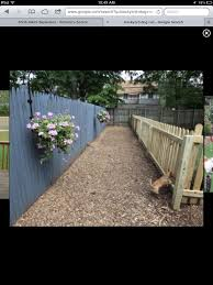 Backyard Ideas For Dogs Dog Run Ground Cover Round Designs