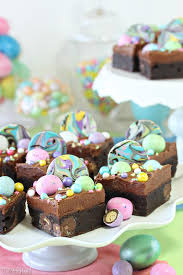 malted easter eggs malted milk chocolate brownies sugarhero