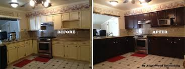 can i stain my kitchen cabinets impressive refinish kitchen cabinets refacing kitchen cabinets wood