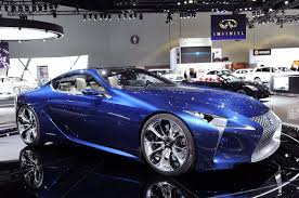 lexus lf lc black lexus lf lc blue concept la 2012 photo gallery autoblog