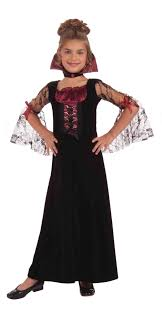 Pumpkin Princess Halloween Costume Vampire Costumes Girls Vampire Costume 16 89 Girls