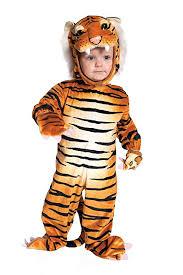 Toddler Cat Halloween Costume Amazon Underwraps Baby U0027s Tiger Clothing