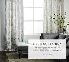 Half Height Curtains Window Treatments West Elm