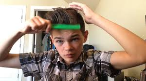 junior boy hairstyles how to make an awesome hair style for boys youtube