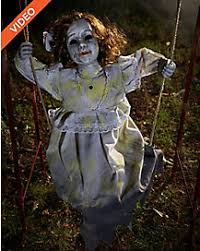 Swinging Skeleton Halloween Decorations by Halloween Animatronics Animated Props And Decor