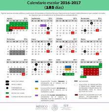 calendario imss 2016 das festivos dias de descanso o vacaciones ciclo escolar 2016 2017 sep mexico