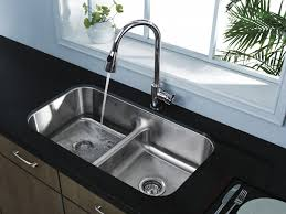 kitchen faucet impressive chrome finish stainless steel