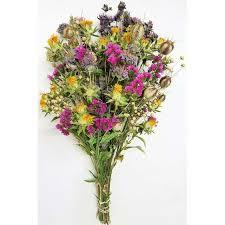 wild garden flower bouquet dried flower bouquet