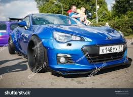 subaru brz body kit moscow 6 august 2016 faces laces stock photo 473073085 shutterstock