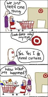 target black friday paper joke there u0027s voodoo at target stores to make you spend all your money