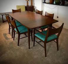 broyhill dining room sets mid century modern saga by broyhill premier brasilia dining table