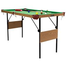 4ft pool table folding charles bentley 4ft 6in snooker pool tables green buydirect4u