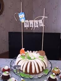 baby shower nothing bundt cakes baby love pinterest cake