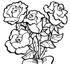 Coloring Pages Rose Rose Heart Color Page Plus Rose Color Pages Color Pages