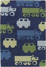Kid Rug Trucks Rug By Chandra Rugs Rosenberryrooms