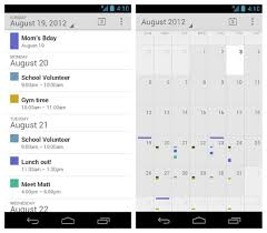 stock google calendar is now available in play store