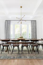 Casual Dining Room Lighting by Best 25 Long Dining Tables Ideas On Pinterest Large Dining Room
