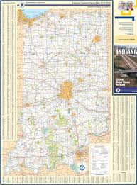 Map Of Indiana And Illinois by Large Detailed Map Of Indiana With Cities And Towns