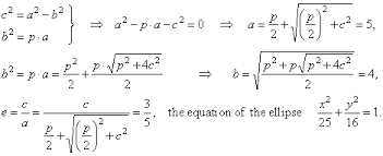 parametric equations of ellipse find the equation of the ellipse