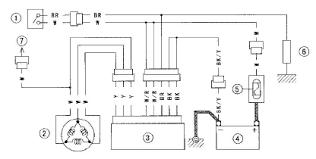 shows toyota cruiser brake stop light switch wiring diagram