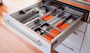 range ustensiles cuisine rangements tiroir cuisine espace rangé