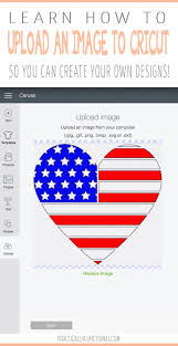 Create Your Own Flag How Do I Upload My Own Images With A Cricut Machine