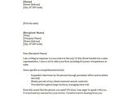 sending a cover letter by email