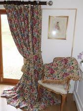 Interlined Curtains For Sale Country House Curtains Ebay